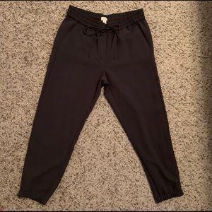 JCREW Mercantile Jogger Pant in Gray. Size 10